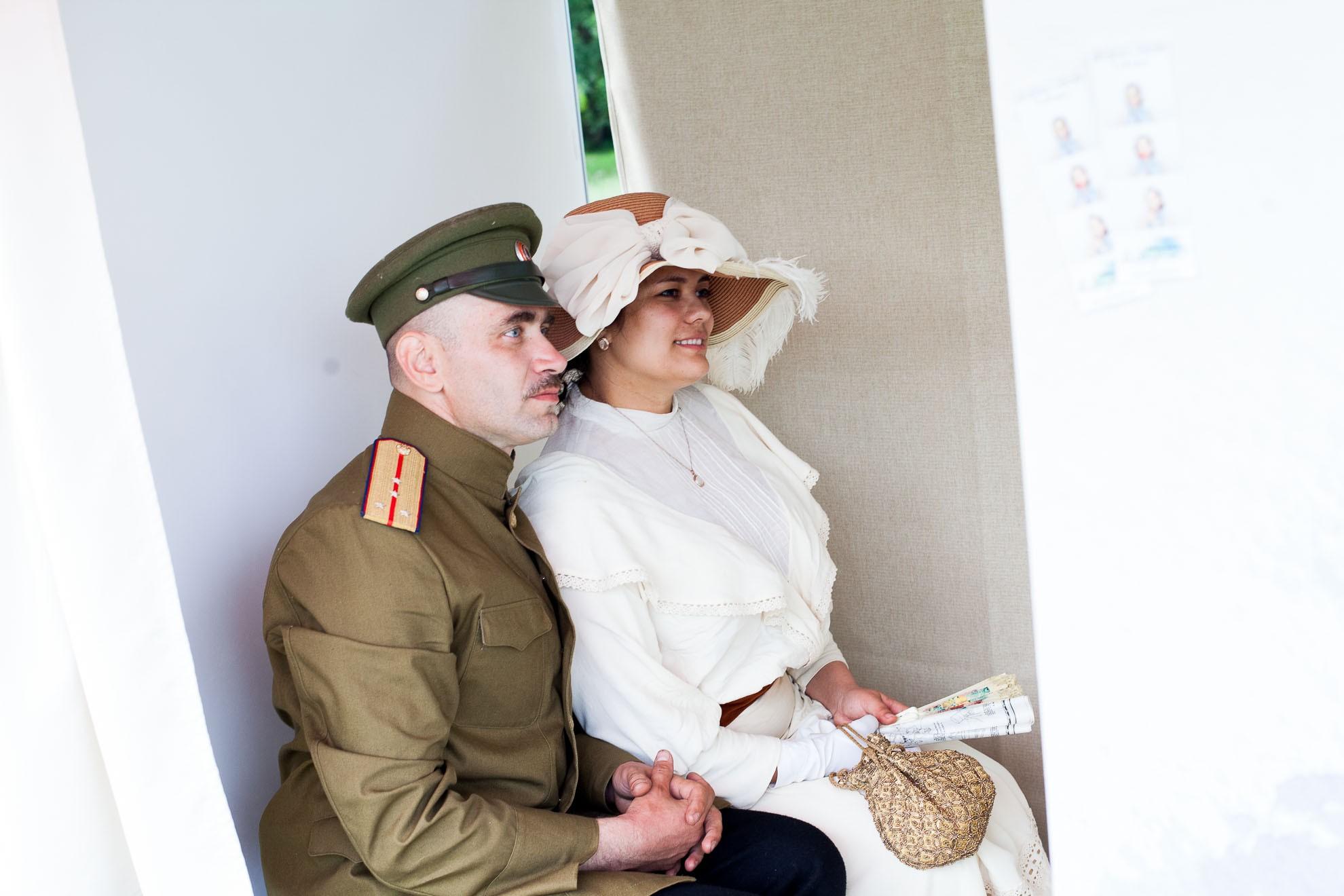ДЛЯ ТЕЛЕКАНАЛА МОСКВА24 на фестивале Времена и Эпохи в Коломенском